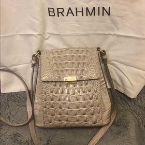 Used 1 time Brahmin crossbody purse